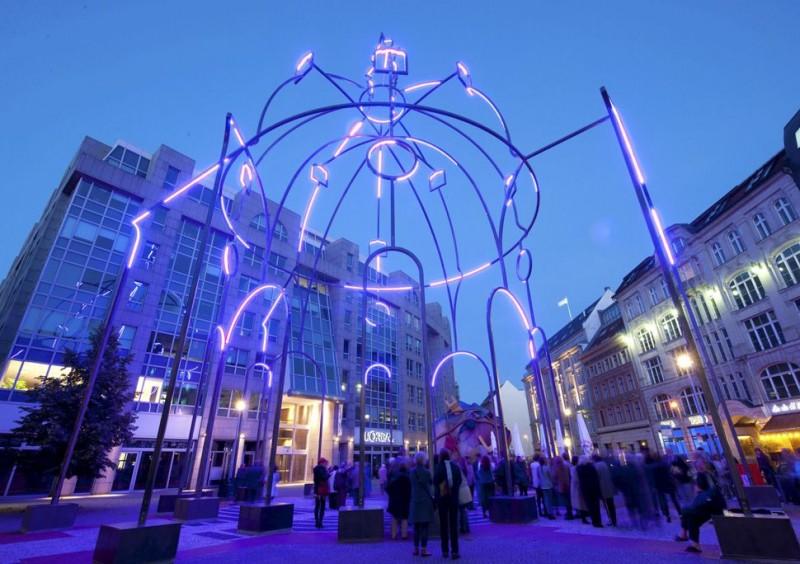 Inauguración Memoria Urbana Berlin
