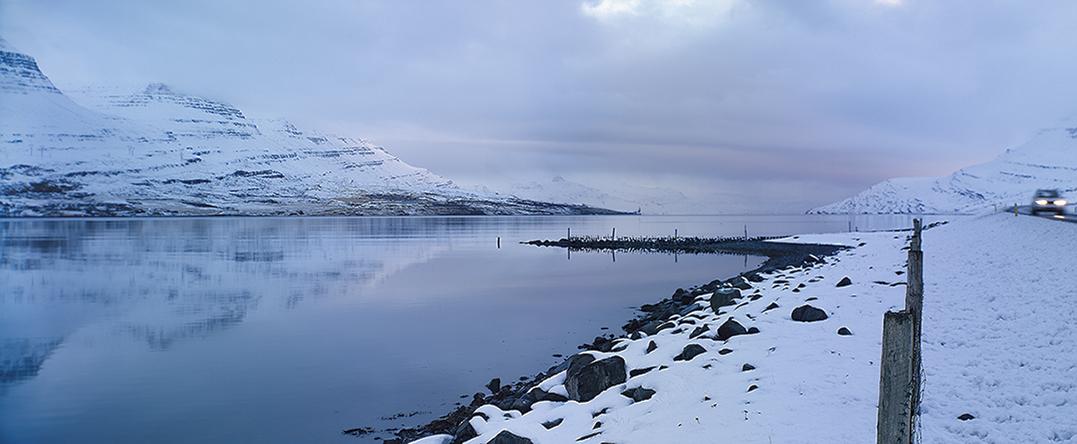 Reyoarfjörour Iceland 2013 de Alfonso Zubiaga